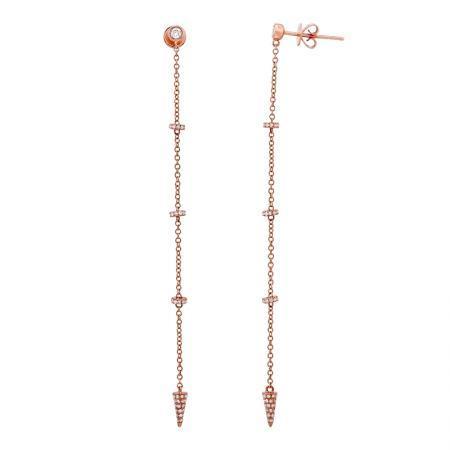 14kr micro pave diamond wheel and cone dangle earrings 5203dwe4rza11 1