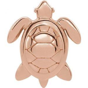 14kr turtle studs 2