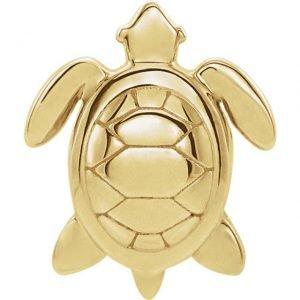 14ky turtle studs 2