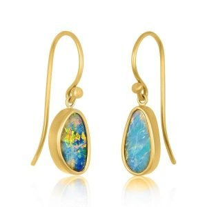 22k miss match opal earrings 1