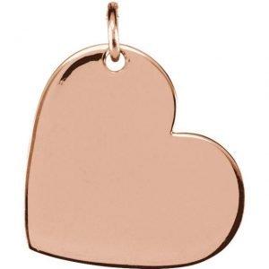 rg 11mm x 9mm heart pendant