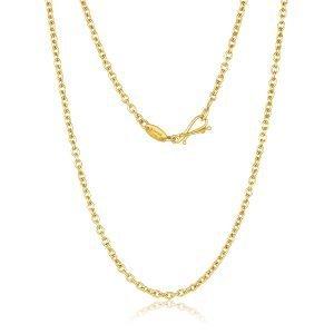 22 Karat Gold Oval Links Chain