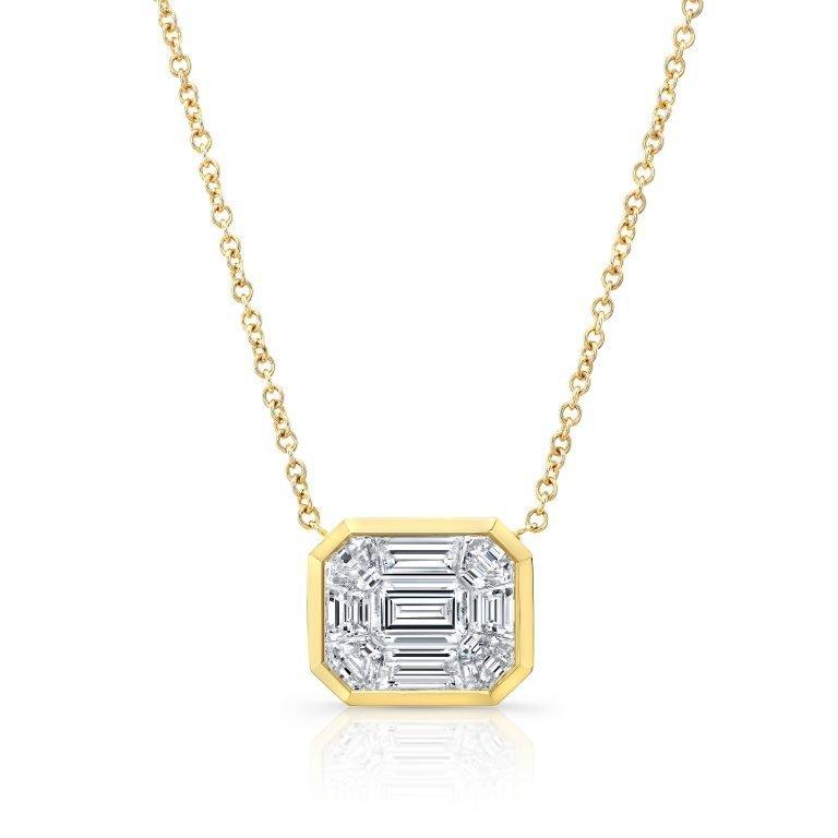 18 Karat Gold Diamond Necklace