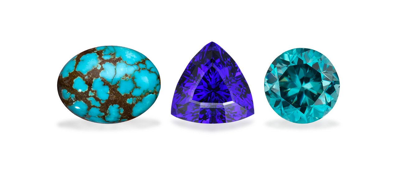 Guide to Birthstones: December – Tanzanite, Zircon, and Turquoise