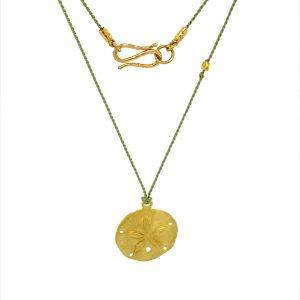 22k-gold-sand-dollar-on-olive-silk 2021-04-16-12-26-08